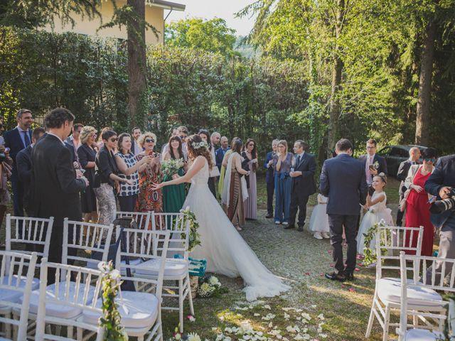 Il matrimonio di Alberto e Stefania a Albese con Cassano, Como 103