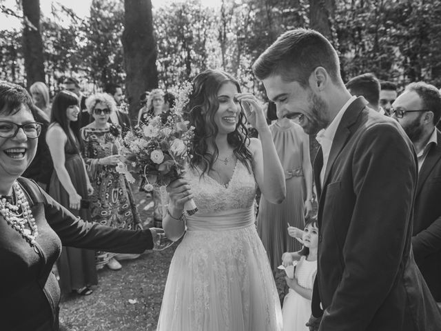 Il matrimonio di Alberto e Stefania a Albese con Cassano, Como 104