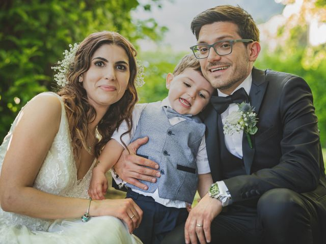Il matrimonio di Alberto e Stefania a Albese con Cassano, Como 107