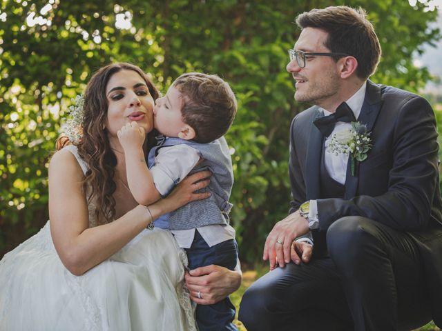 Il matrimonio di Alberto e Stefania a Albese con Cassano, Como 1
