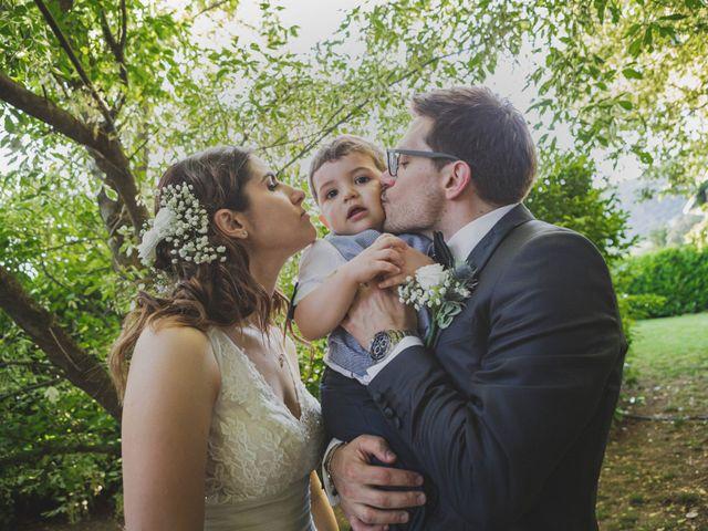 Il matrimonio di Alberto e Stefania a Albese con Cassano, Como 108