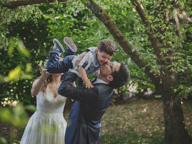 Il matrimonio di Alberto e Stefania a Albese con Cassano, Como 111
