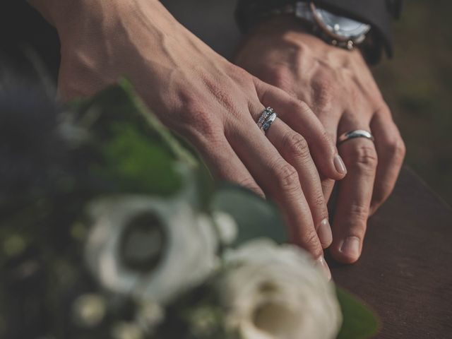 Il matrimonio di Alberto e Stefania a Albese con Cassano, Como 119