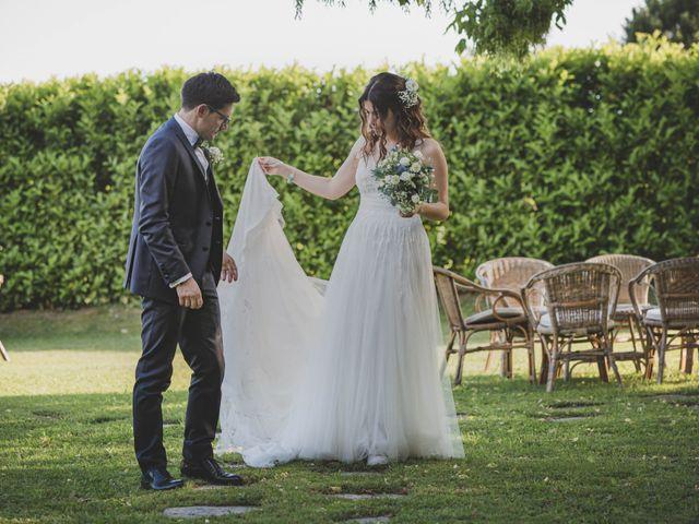 Il matrimonio di Alberto e Stefania a Albese con Cassano, Como 123