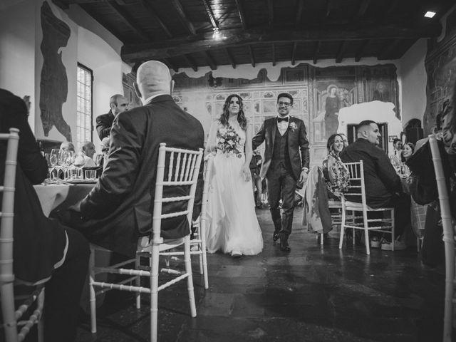 Il matrimonio di Alberto e Stefania a Albese con Cassano, Como 147