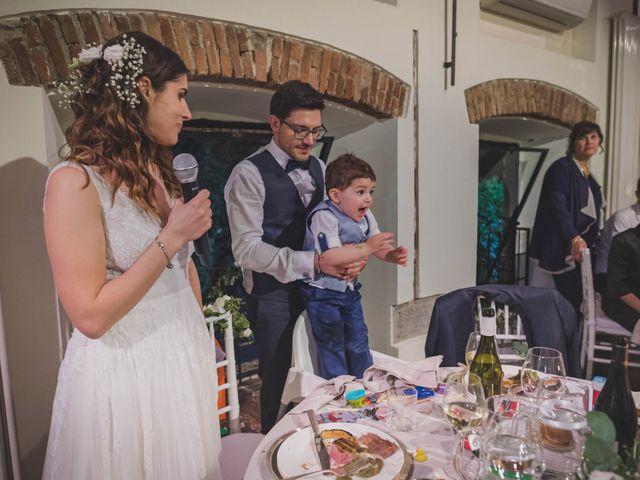 Il matrimonio di Alberto e Stefania a Albese con Cassano, Como 152