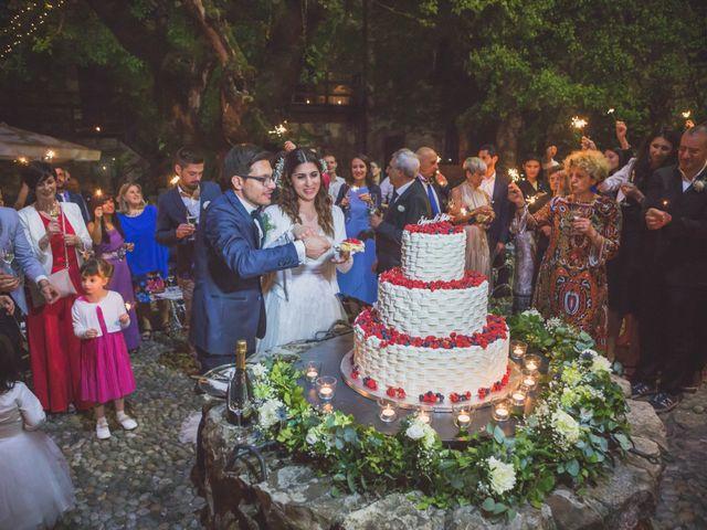 Il matrimonio di Alberto e Stefania a Albese con Cassano, Como 158