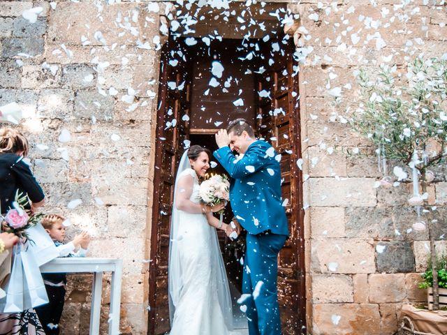 Le nozze di Carlotta e Gianluca