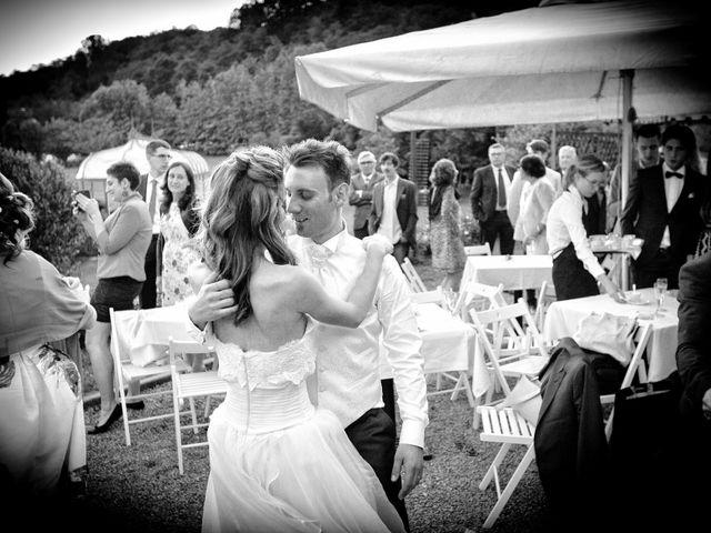 Il matrimonio di Fabio e Valentina a Inverigo, Como 106