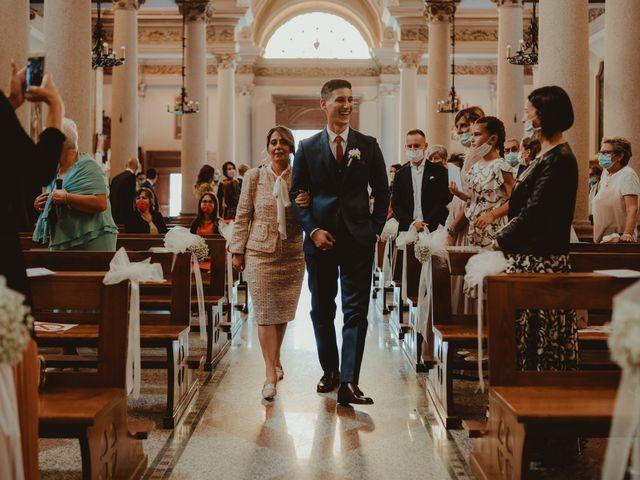 Il matrimonio di Massimo e Silvia a Capriate San Gervasio, Bergamo 32