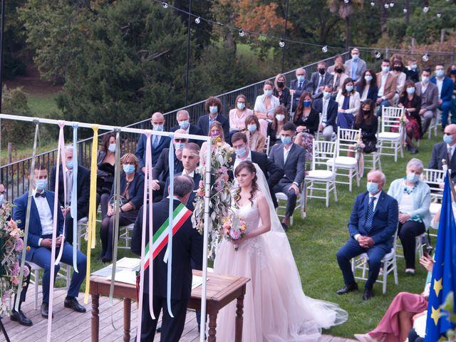 Il matrimonio di Flavio e Laura a Calco, Lecco 19