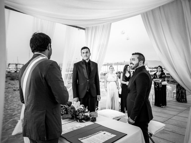 Il matrimonio di Fabrizio e Sergio a Viareggio, Lucca 29