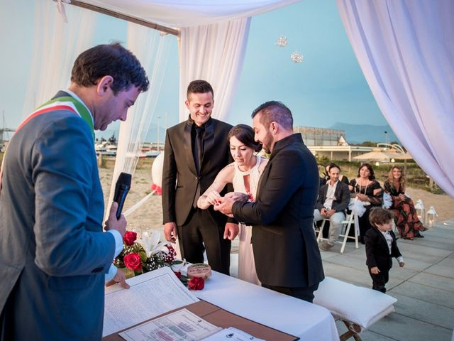 Il matrimonio di Fabrizio e Sergio a Viareggio, Lucca 46