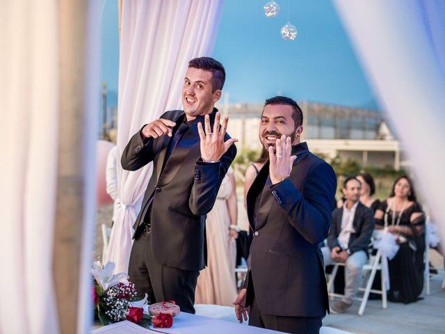 Il matrimonio di Fabrizio e Sergio a Viareggio, Lucca 56