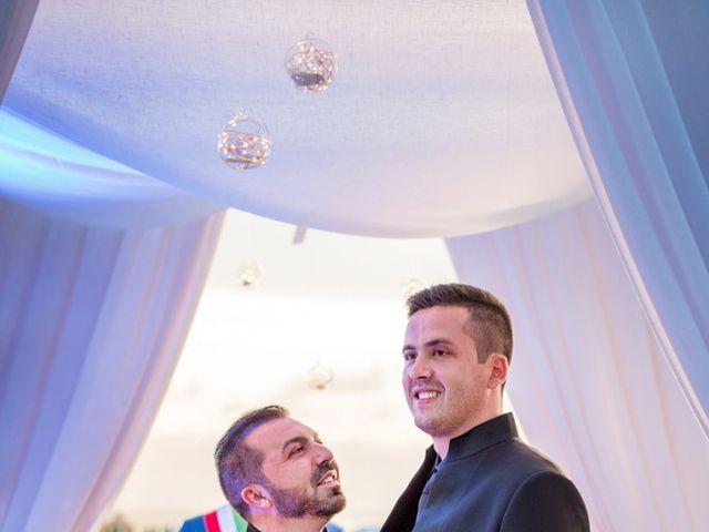 Il matrimonio di Fabrizio e Sergio a Viareggio, Lucca 58