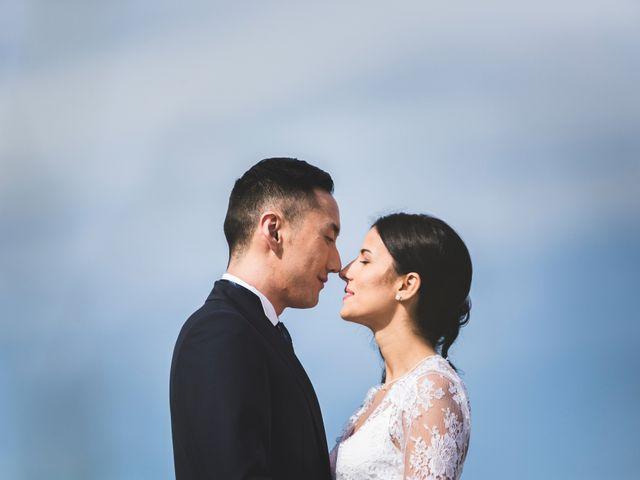 le nozze di Agnese e Eric