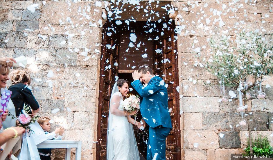 Il matrimonio di Gianluca e Carlotta a Poggibonsi, Siena