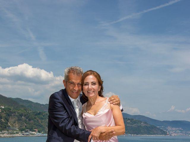 Il matrimonio di Gianni e Linda a Arenzano, Genova 44