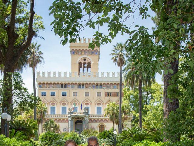 Il matrimonio di Gianni e Linda a Arenzano, Genova 43