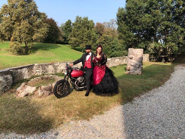 Il matrimonio di Andrea e Mary a Castelletto sopra Ticino, Novara 1