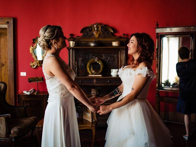 Il matrimonio di Mara e Alice a Rovellasca, Como 25