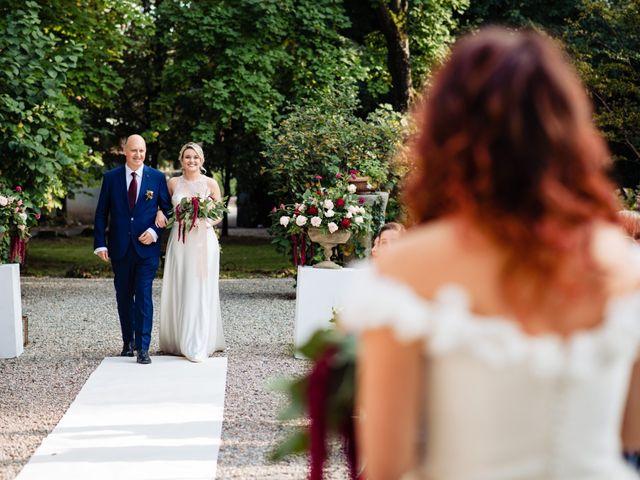 Il matrimonio di Mara e Alice a Rovellasca, Como 34
