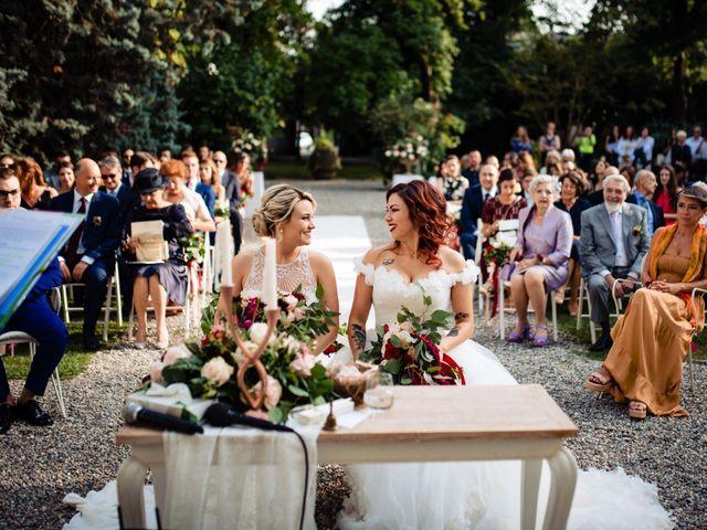 Il matrimonio di Mara e Alice a Rovellasca, Como 35