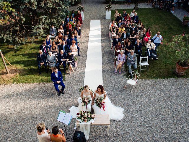 Il matrimonio di Mara e Alice a Rovellasca, Como 38