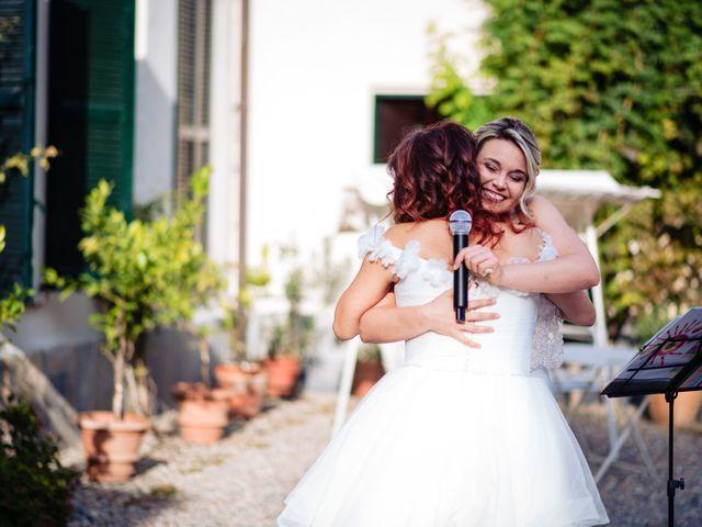Il matrimonio di Mara e Alice a Rovellasca, Como 44