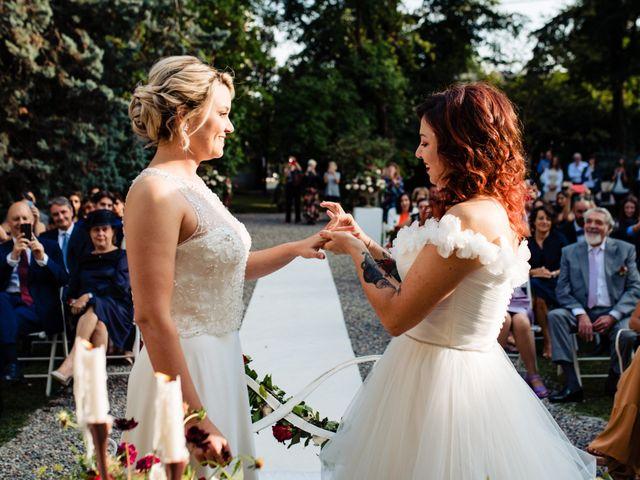 Il matrimonio di Mara e Alice a Rovellasca, Como 46