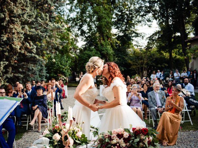 Il matrimonio di Mara e Alice a Rovellasca, Como 48