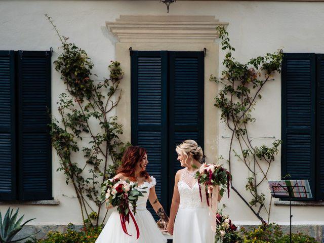 Il matrimonio di Mara e Alice a Rovellasca, Como 3