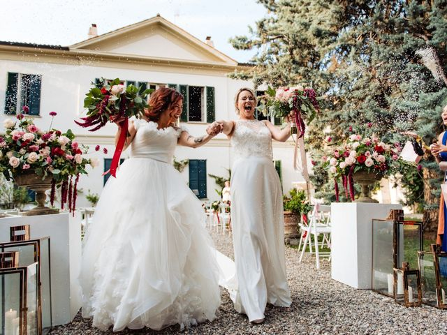 Il matrimonio di Mara e Alice a Rovellasca, Como 50
