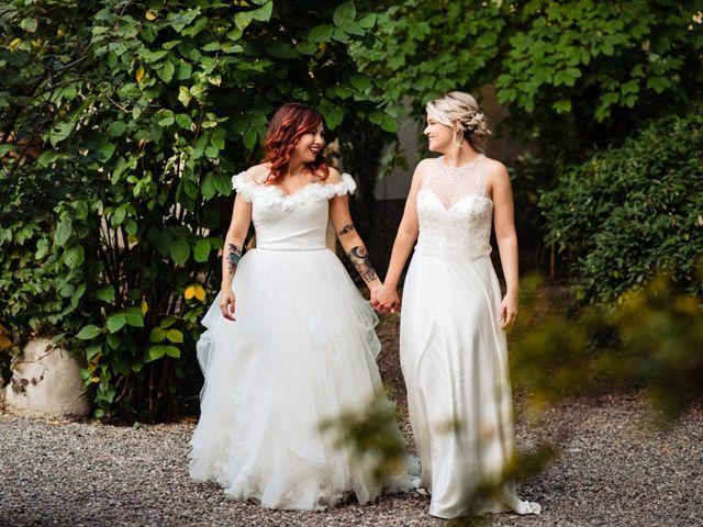 Il matrimonio di Mara e Alice a Rovellasca, Como 8