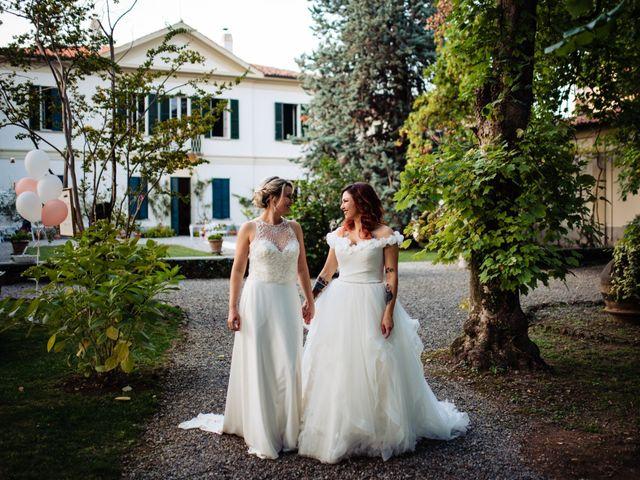 Il matrimonio di Mara e Alice a Rovellasca, Como 11