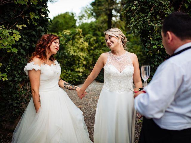 Il matrimonio di Mara e Alice a Rovellasca, Como 57