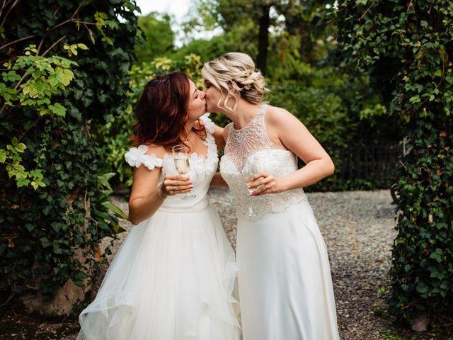 Il matrimonio di Mara e Alice a Rovellasca, Como 59