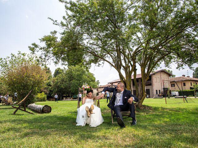Il matrimonio di Thomas e Ilaria a Gaggiano, Milano 94
