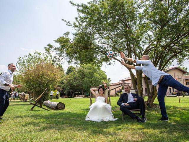 Il matrimonio di Thomas e Ilaria a Gaggiano, Milano 95