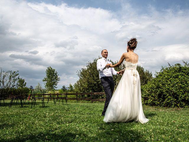 Il matrimonio di Thomas e Ilaria a Gaggiano, Milano 119