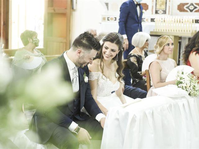 Il matrimonio di Denny e Nunzia a Carpino, Foggia 25