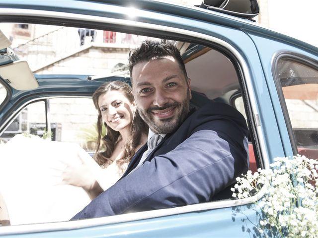 Il matrimonio di Denny e Nunzia a Carpino, Foggia 27