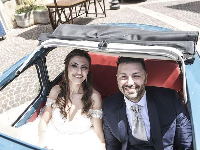 Il matrimonio di Denny e Nunzia a Carpino, Foggia 28