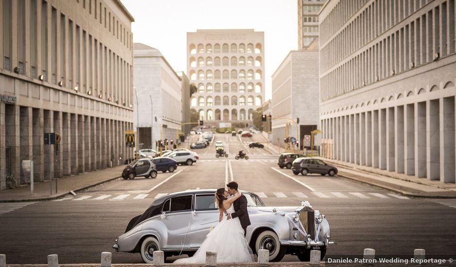 Il matrimonio di Valerio e Arianna a Roma, Roma