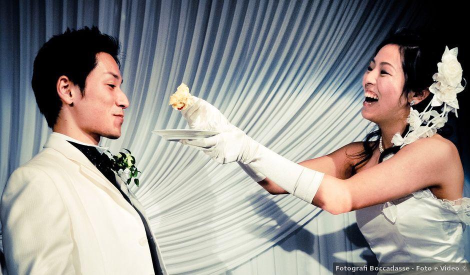 Il matrimonio di Hydenori e Akiko a Genova, Genova