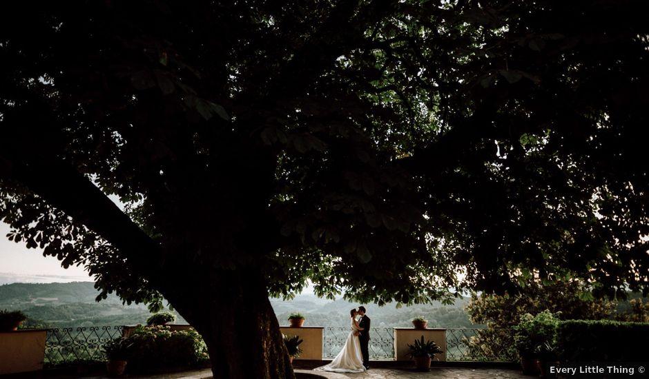 Il matrimonio di Francesco e Elisa a Cocconato, Asti