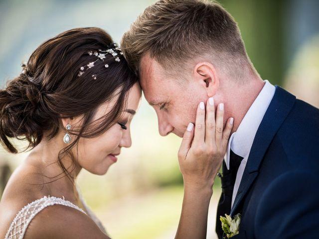 Le nozze di Elle e Christian