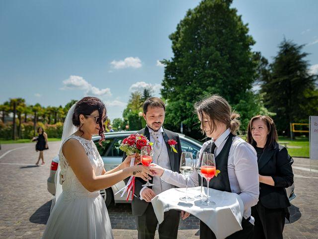 Il matrimonio di Sebastiano e Imen a Monastier di Treviso, Treviso 25