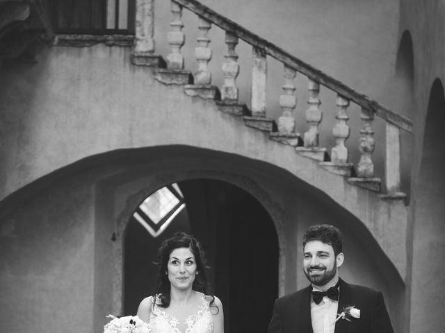 Il matrimonio di Lamberto e Diletta a Pergine Valsugana, Trento 1