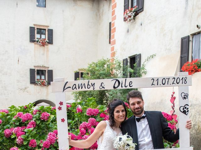 Il matrimonio di Lamberto e Diletta a Pergine Valsugana, Trento 17